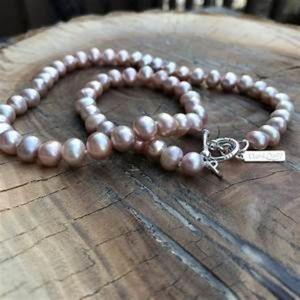 Vantel Pearls Pink pearl strand